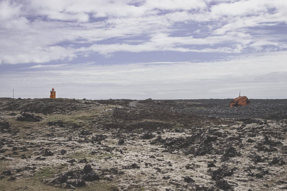 Islande | Grindavik: épave de bateau