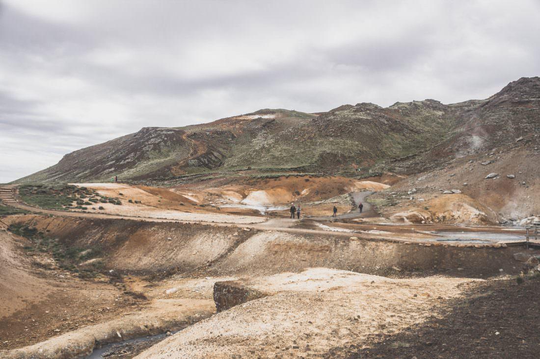 Islande | Zone géothermique de Seltun