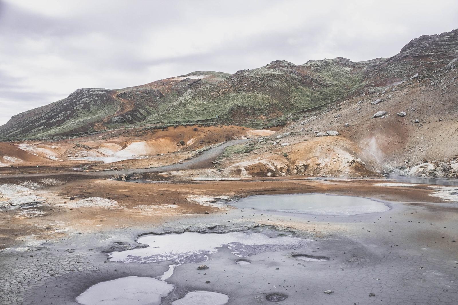 Islande | Road Trip Guide Pratique | Seltun Zone Géothermique
