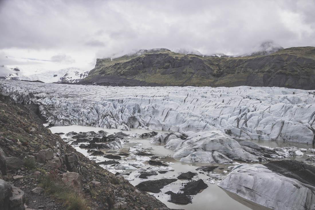 Svinafellsjokull / glacier islande