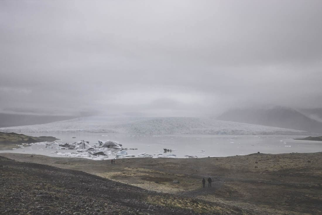 Fjallsárlón / glacier Islande