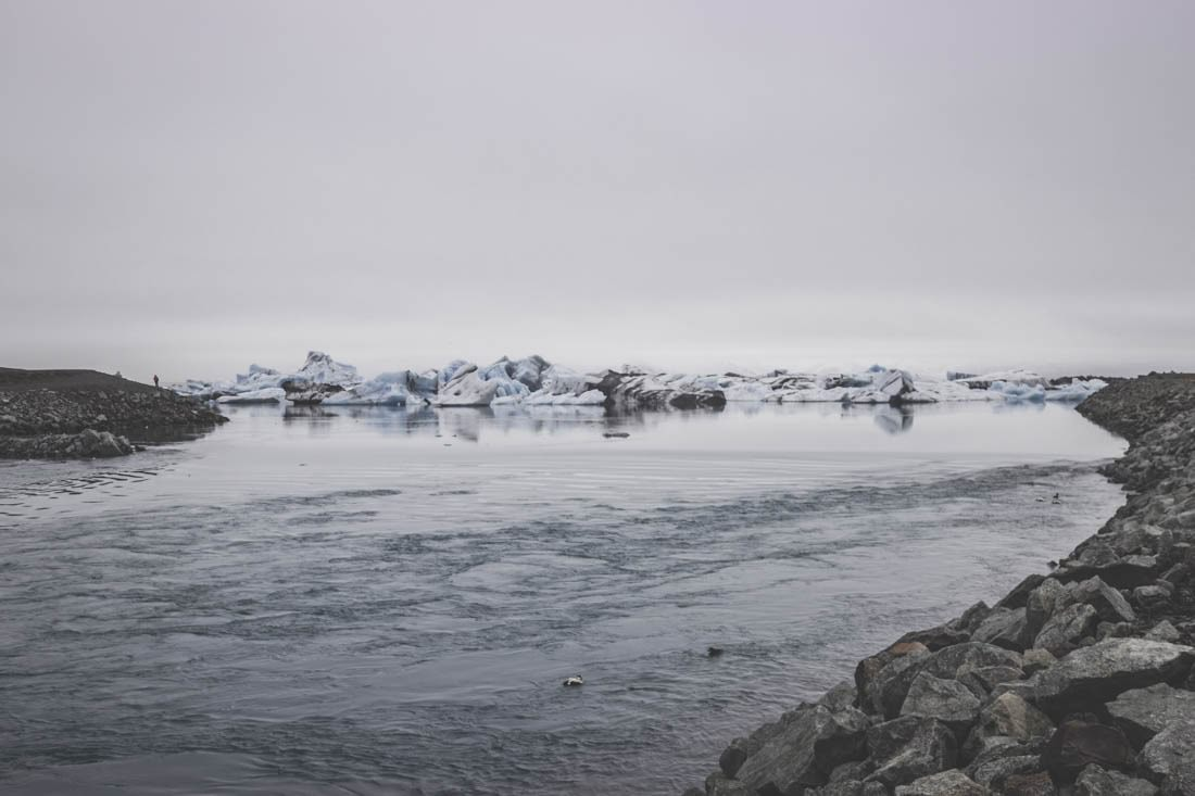 Jökulsárlón et Diamond Beach / Islande / Glacier