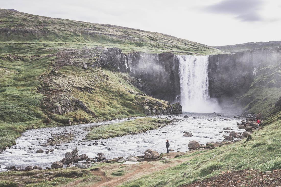 Egilsstadir et Seyðisfjörður / Gufufoss