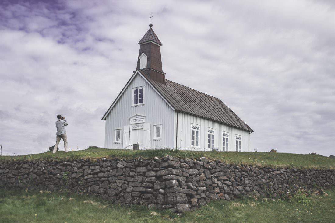 Islande | Reykjanes: l'église Strandakirkja