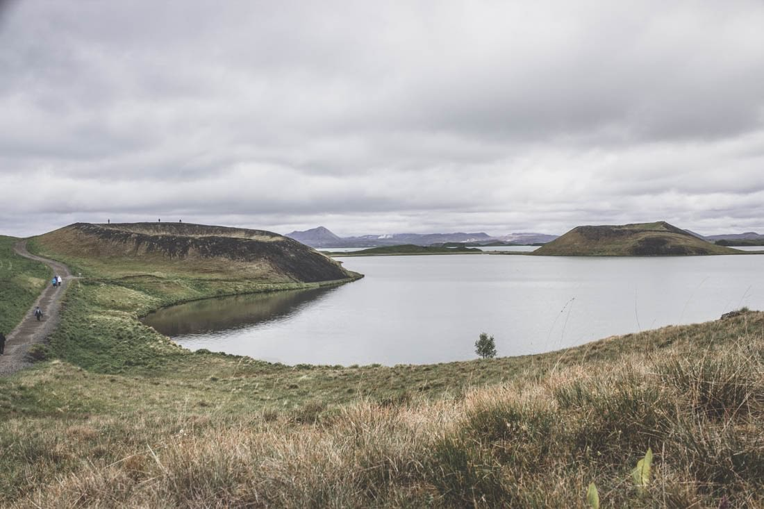 Pseudo-Craters / Myvatn / Islande