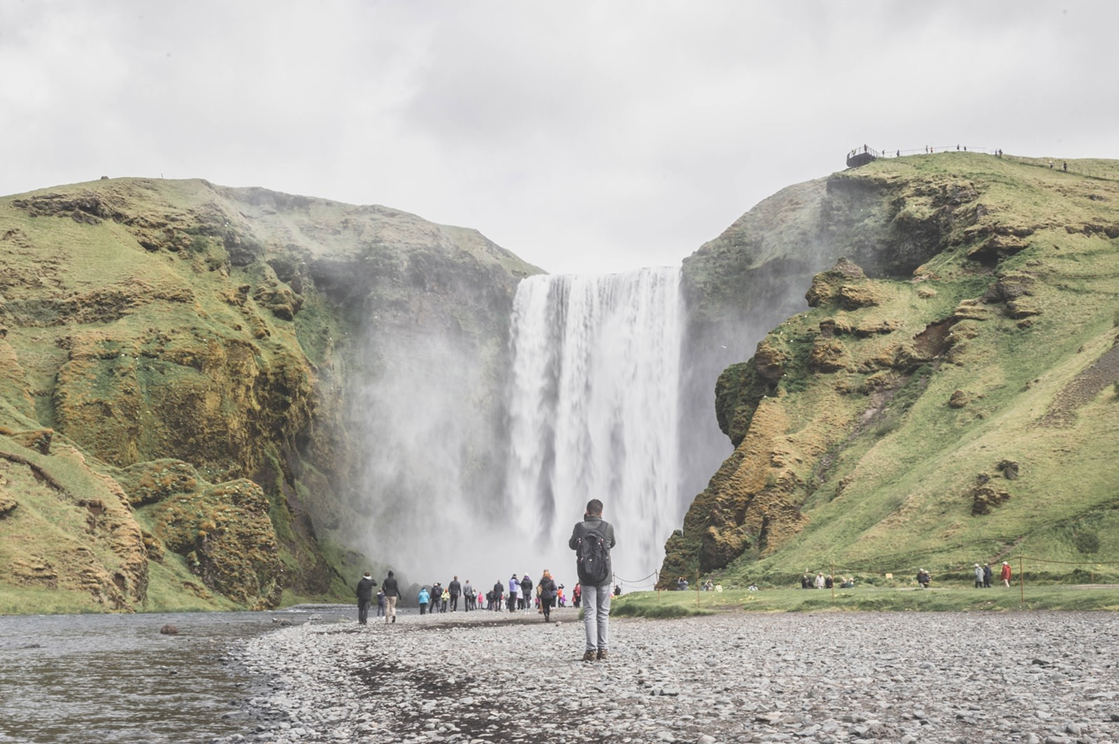 Islande | Road Trip Guide Pratique | La cascade de Skogafoss