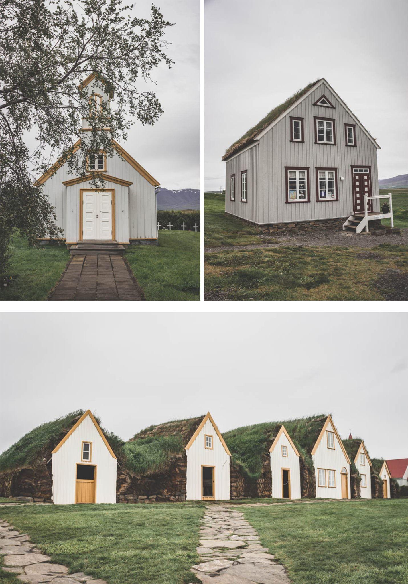 Glaumbær Museum / Maisons enherbées / Islande / Iceland