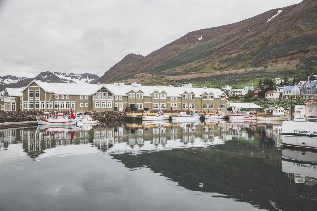 Siglufjörður / Siglufjordur / Iceland / Islande / port islandais