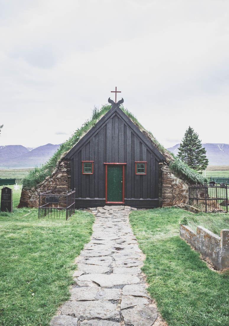 Vidimyri Turf Church / Islande / Iceland / Church / Eglise