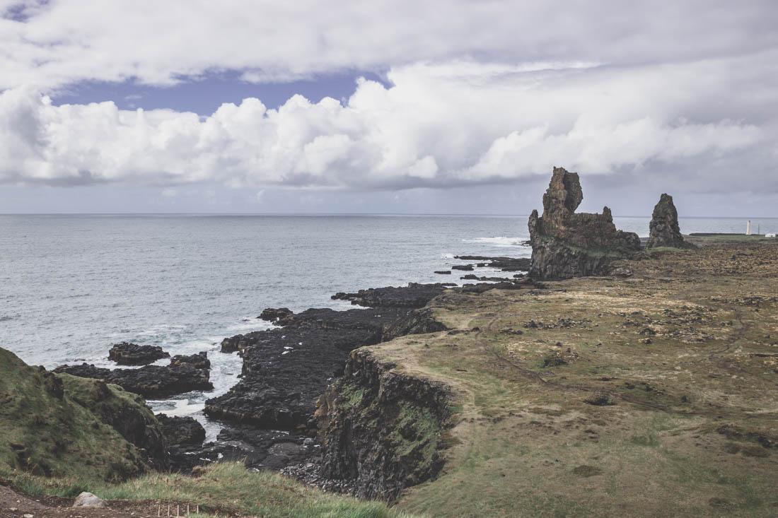 falaises de Lóndrangar / Snaefellsnes