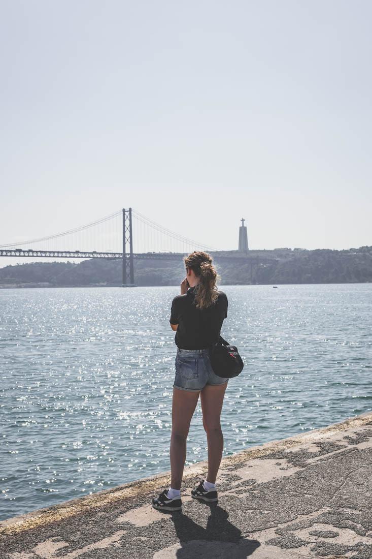 Pontdu25Avril (Ponte 25 de Abril) / Lisbonne / Portugal