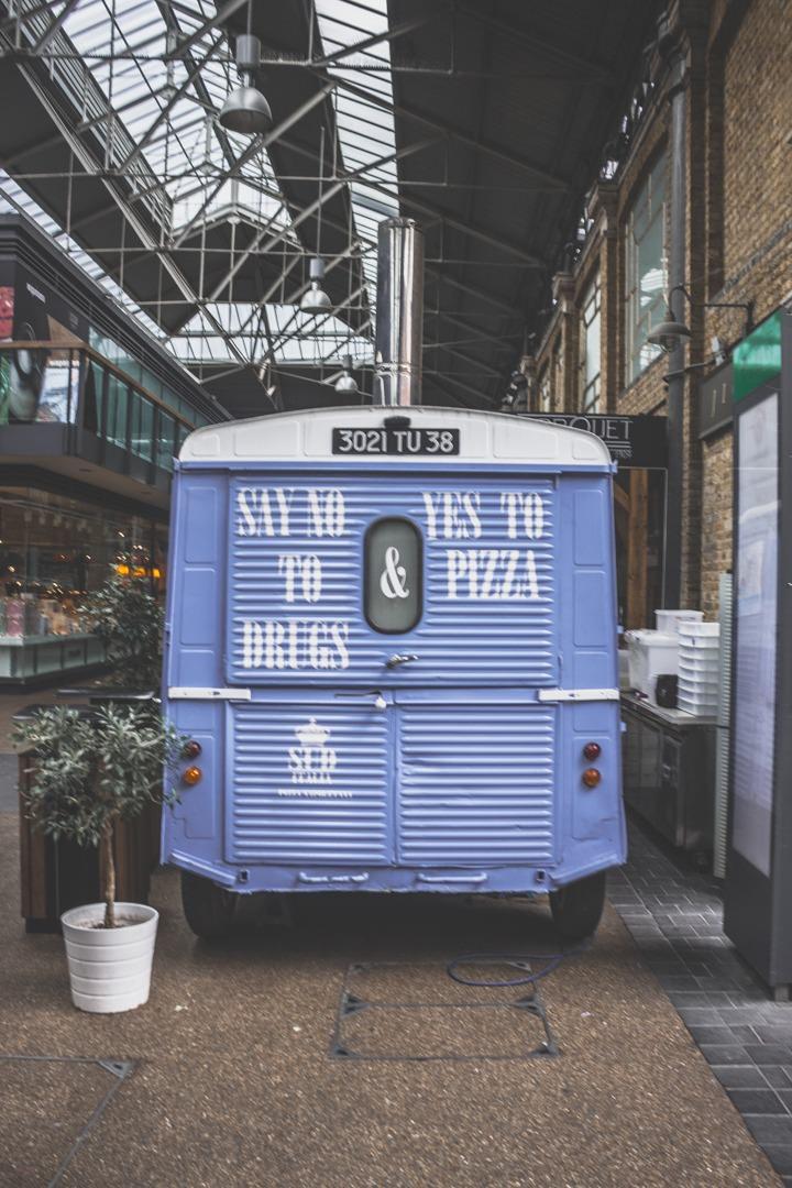 old spitalfields market / Londres / Blog voyage