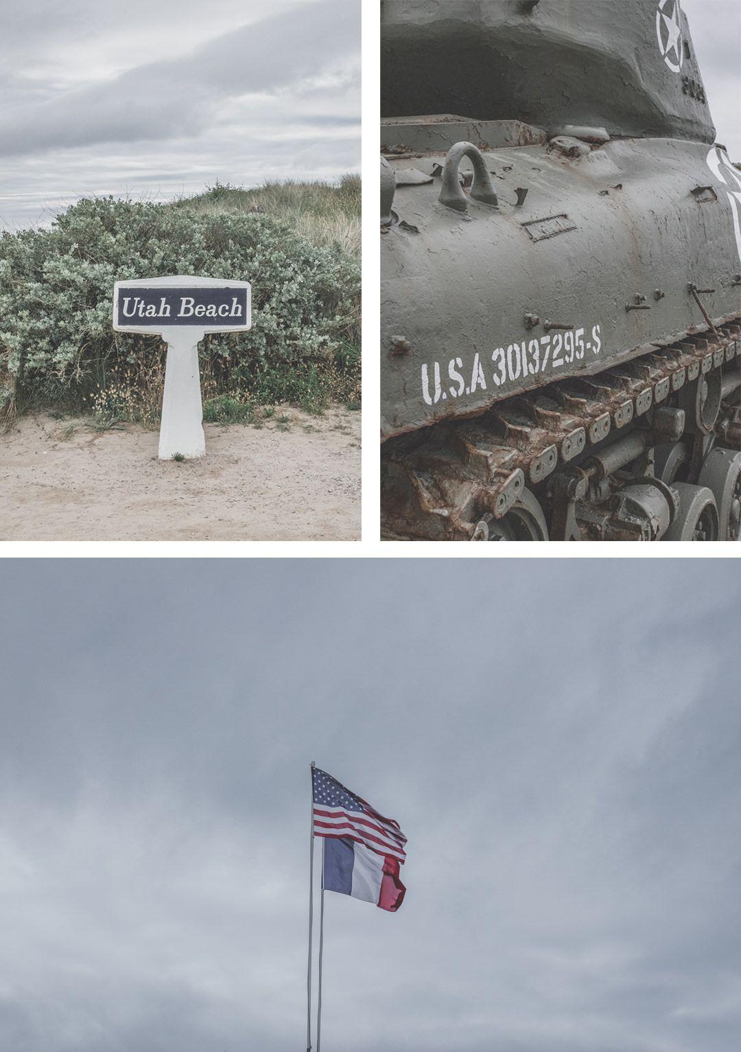 Utah Beach / Manche / Normandie