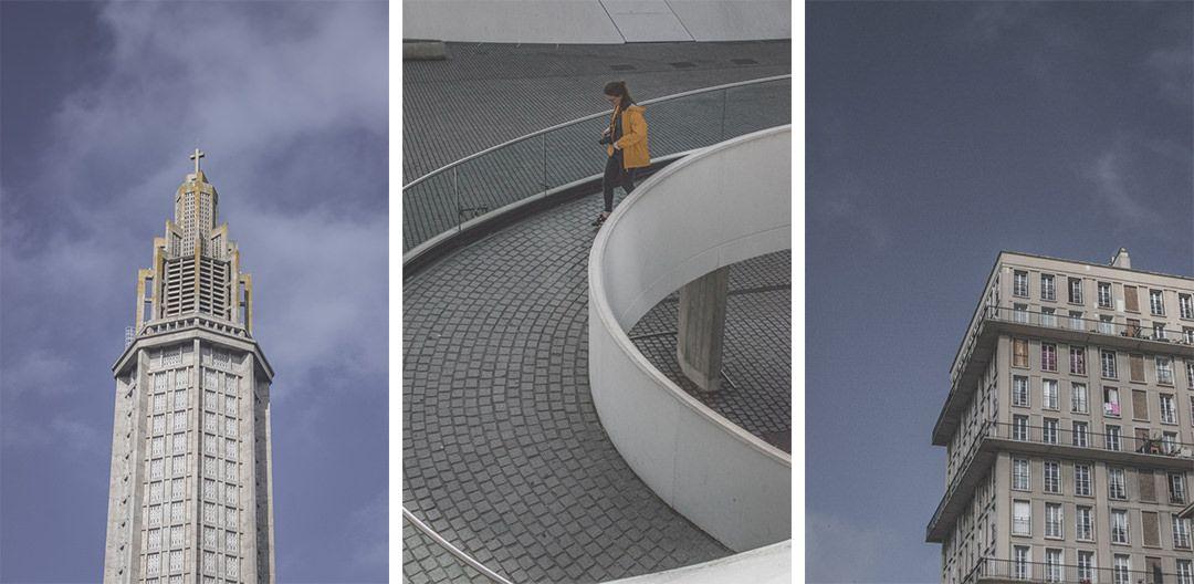 France | Normandie | Seine-Maritime | architecture du Havre patrimoine mondial unesco