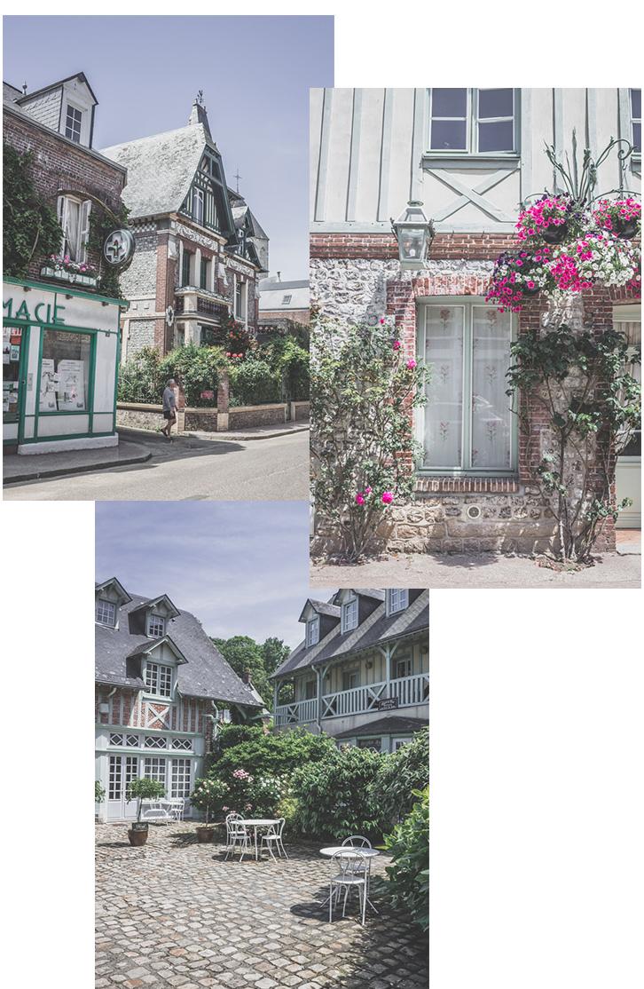 France | Normandie | Seine-Maritime | Veules-les-Roses le village fleuri