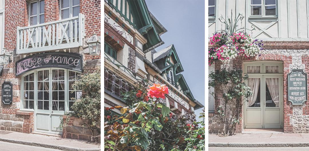 France | Normandie | Seine-Maritime | Veules-les-Roses architecture