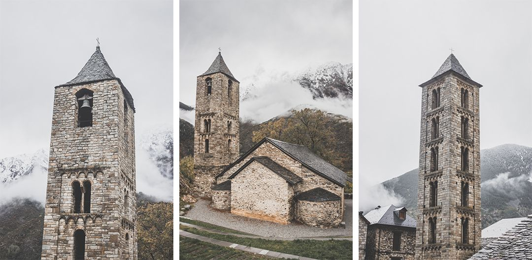 Espagne • Catalogne • Pyrénées • Randonnées au Parc Nacional d'Aigüestortes i Estany de Sant Maurici • Les églises romanes