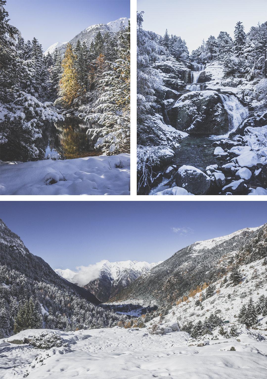 Espagne • Catalogne • Pyrénées • Randonnées au Parc Nacional d'Aigüestortes i Estany de Sant Maurici • Randonnée côté Boì et la cascade du saint-esprit