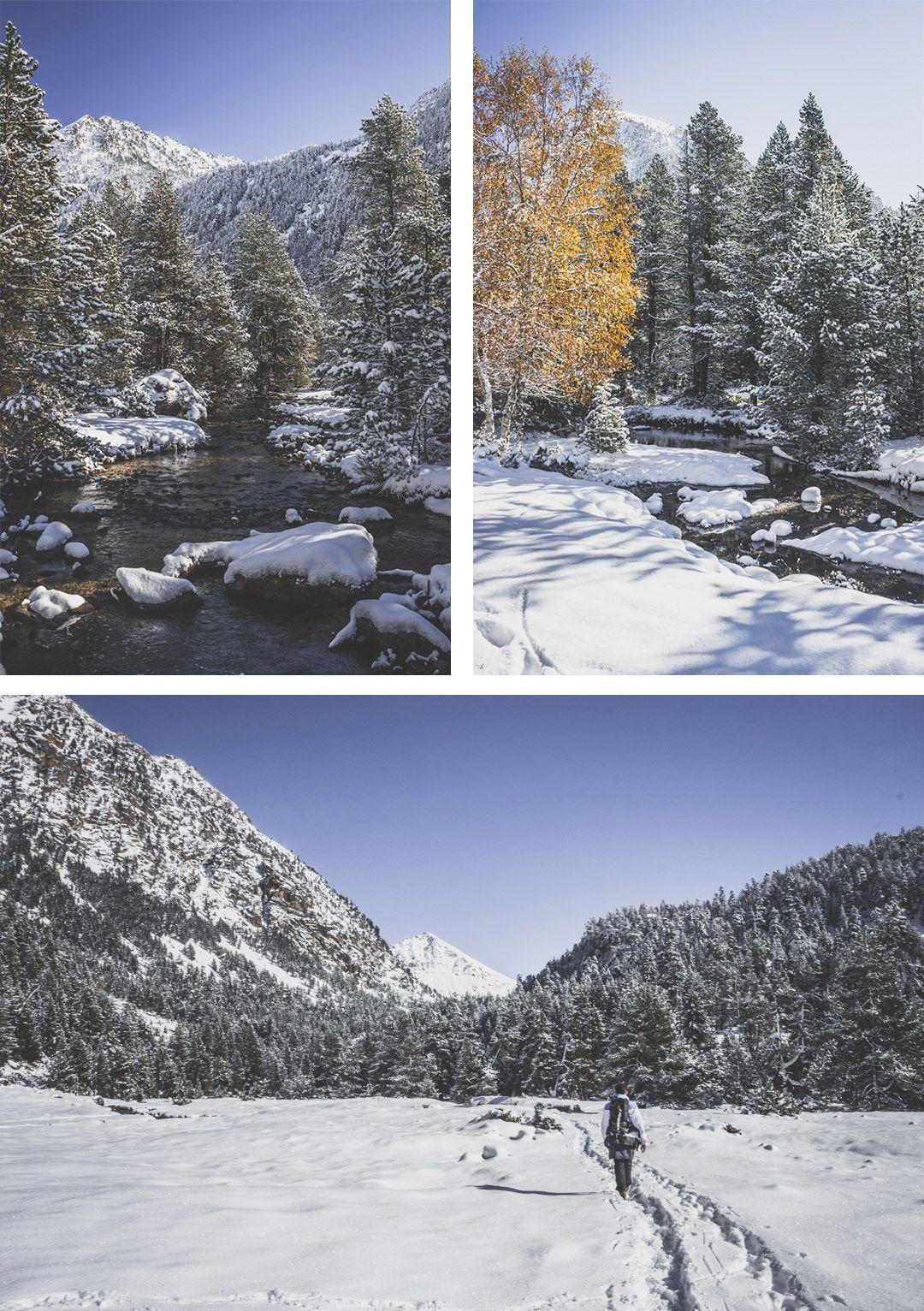 Espagne • Catalogne • Pyrénées • Randonnées au Parc Nacional d'Aigüestortes i Estany de Sant Maurici • Randonnée côté Boì et le plannel d'aiguestortes