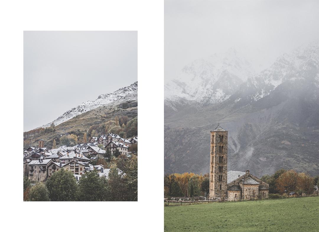 Espagne • Catalogne • Pyrénées • Randonnées au Parc Nacional d'Aigüestortes i Estany de Sant Maurici • Boi et les sommets enneigés