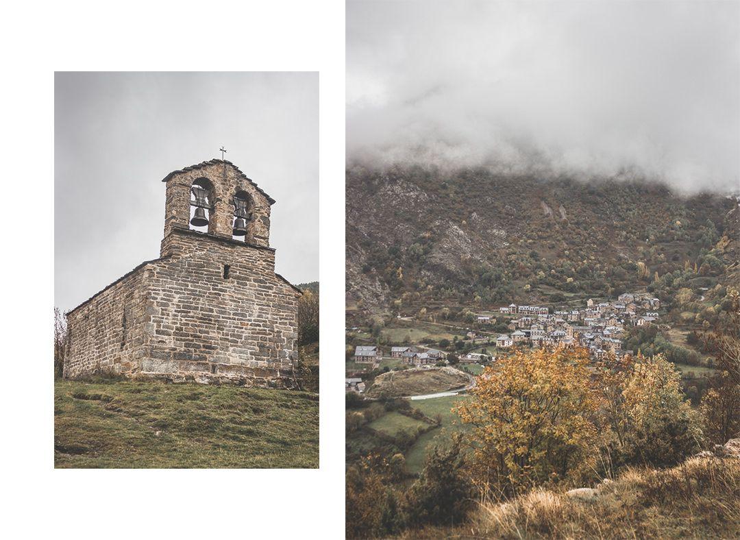 Espagne • Catalogne • Pyrénées • Randonnées au Parc Nacional d'Aigüestortes i Estany de Sant Maurici • Boi et les églises romanes