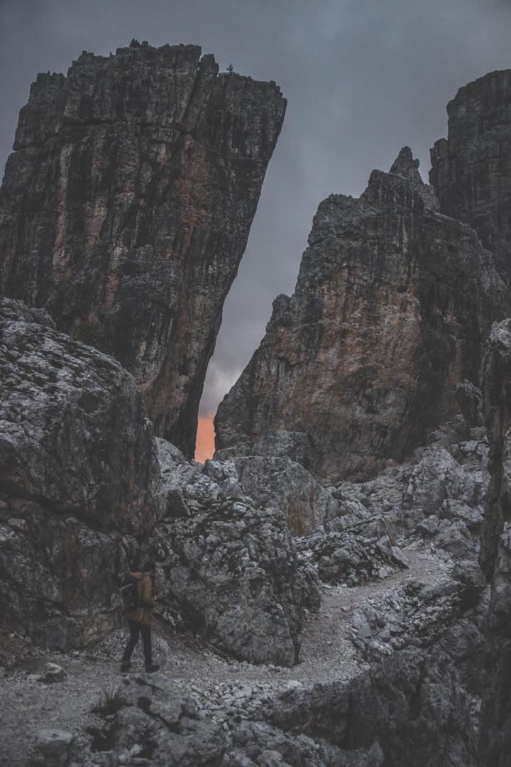 Dolomites / Cinque Torri / Italie / Road trip / Blog voyage
