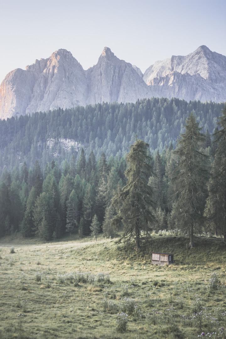Dolomites / Lago di Sorapis / Italie / Road trip / Blog voyage