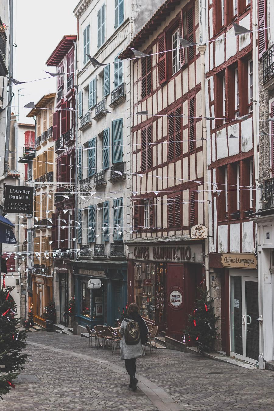 balade dans le centre ville de Bayonne