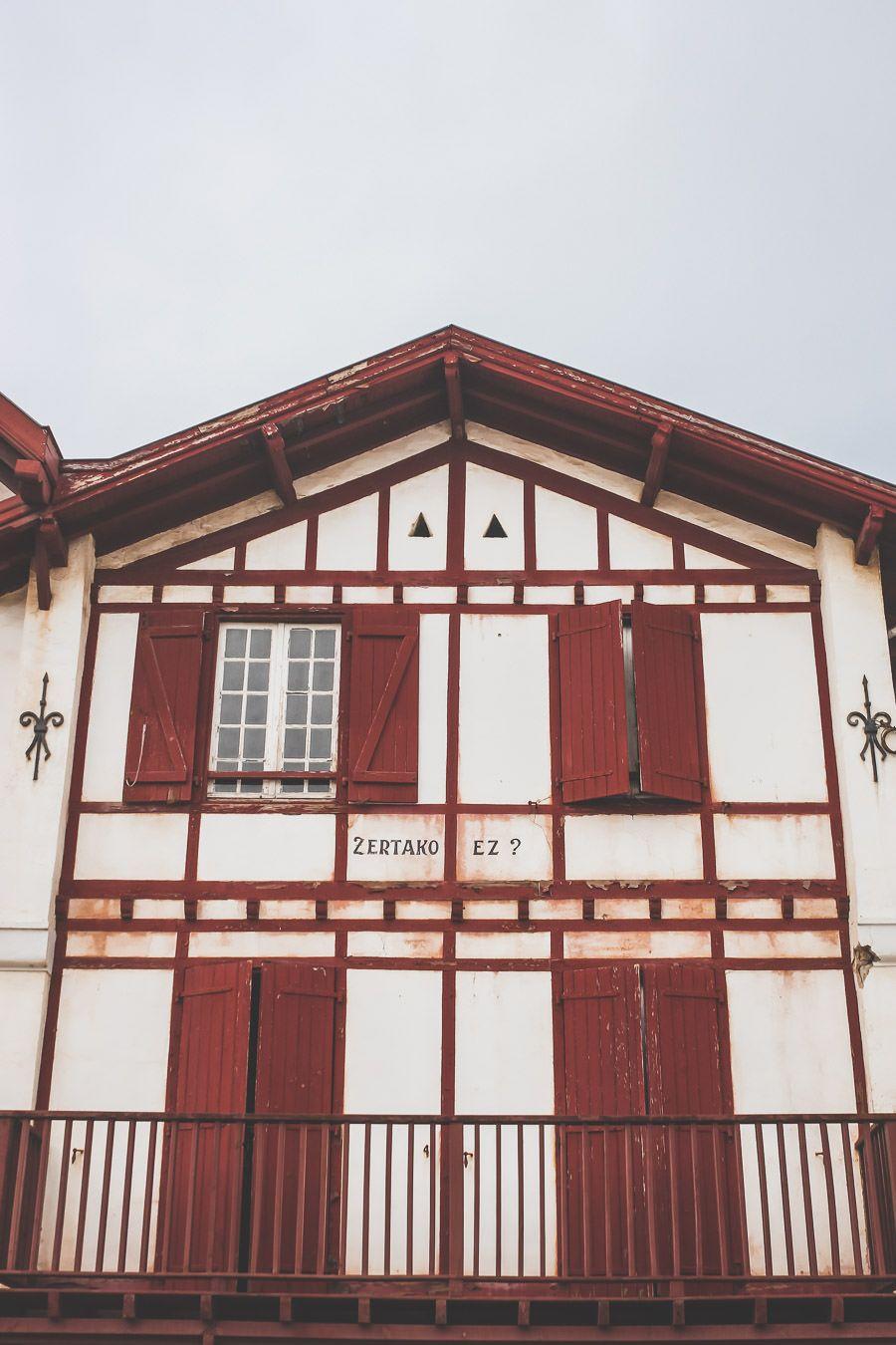 maison typique basque à Bidart