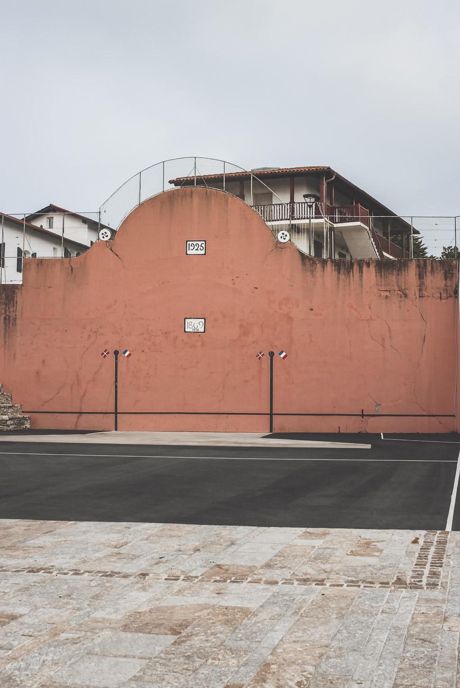 terrain de pelote basque à BIdart