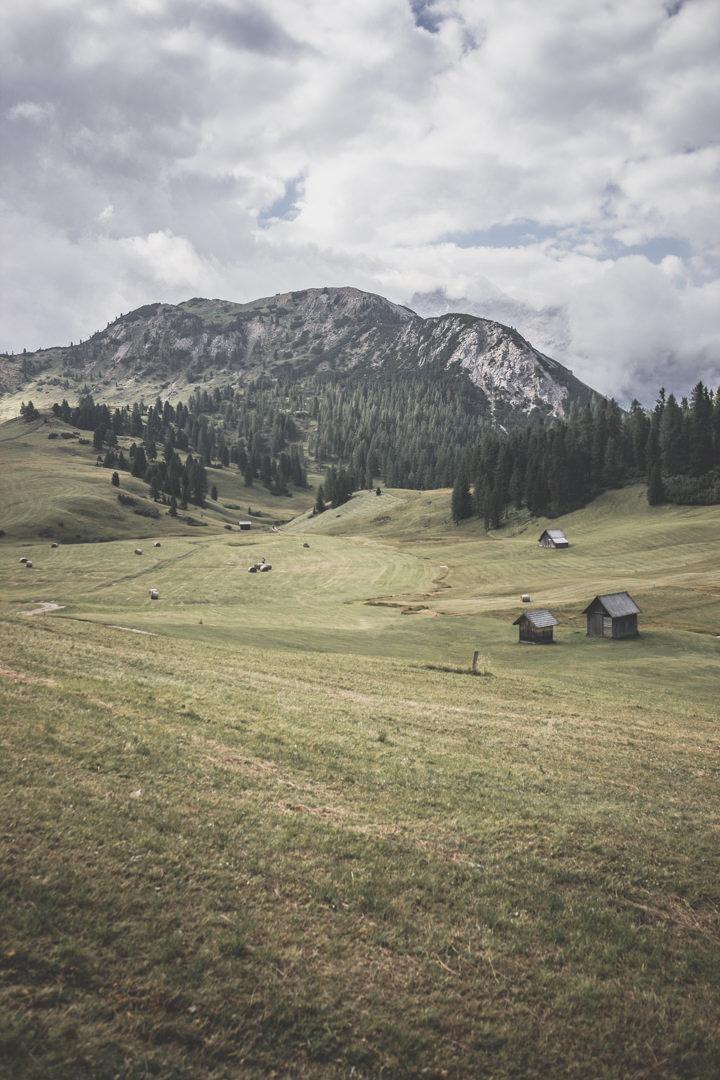 Prato Piazza, un alpage où randonner dans les Dolomites, Italie
