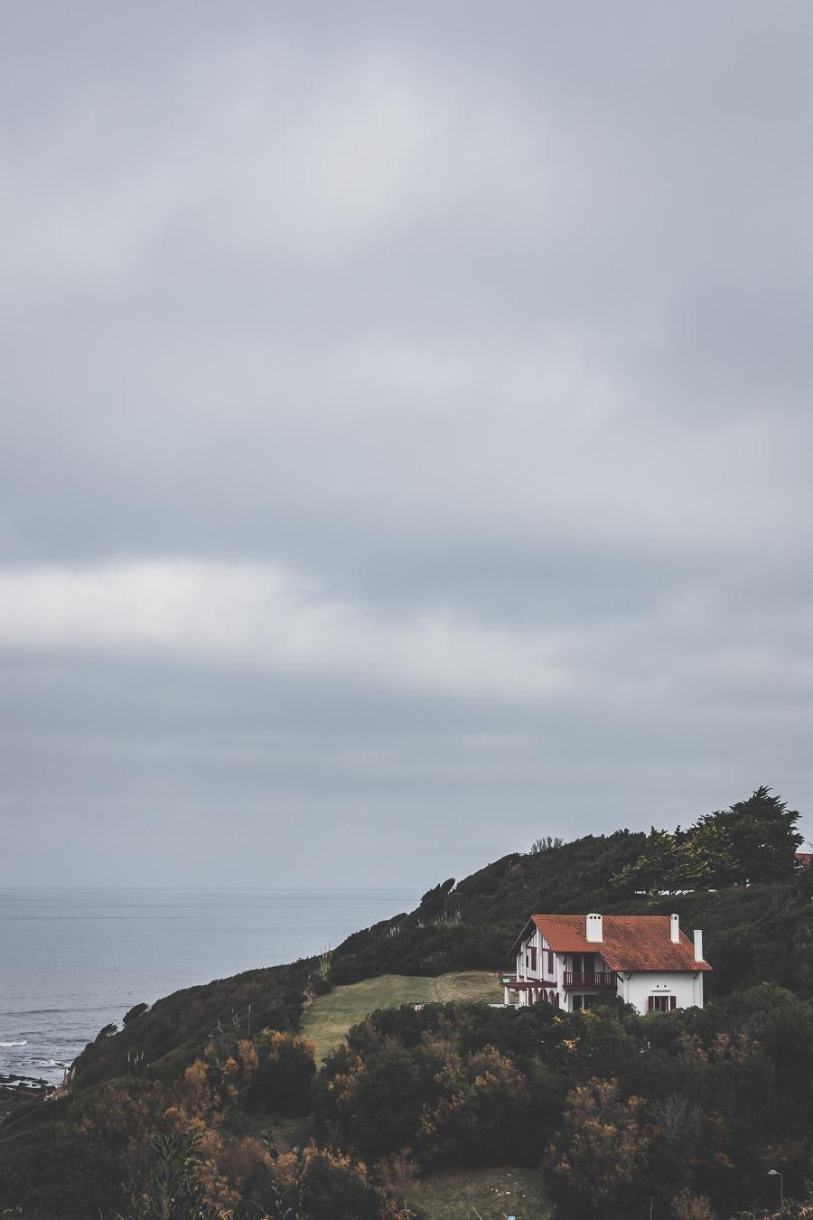 Maison typique de la côte basque