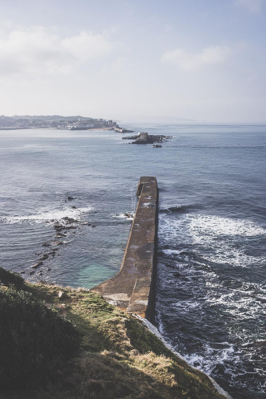 la côte basque sauvage