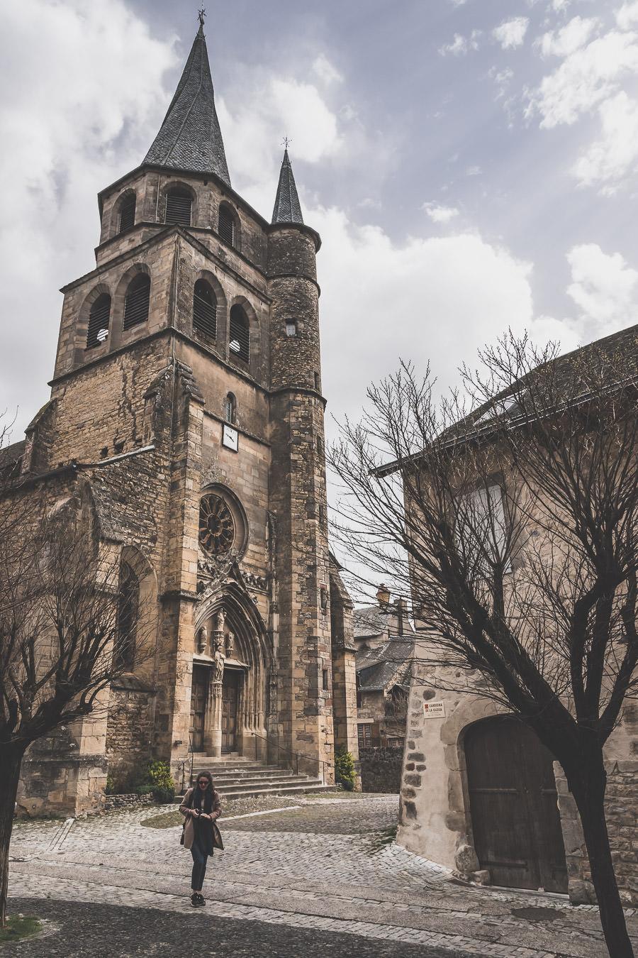Sainte-Eulalie-d'Olt, joli village aveyronnais, Occitanie