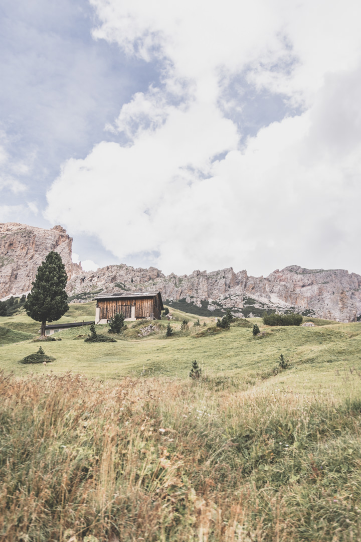Le Val Gardena, dans les Dolomites, Italie